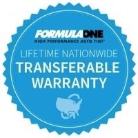 Formulaone Lifetime Warranty Ap Tinting