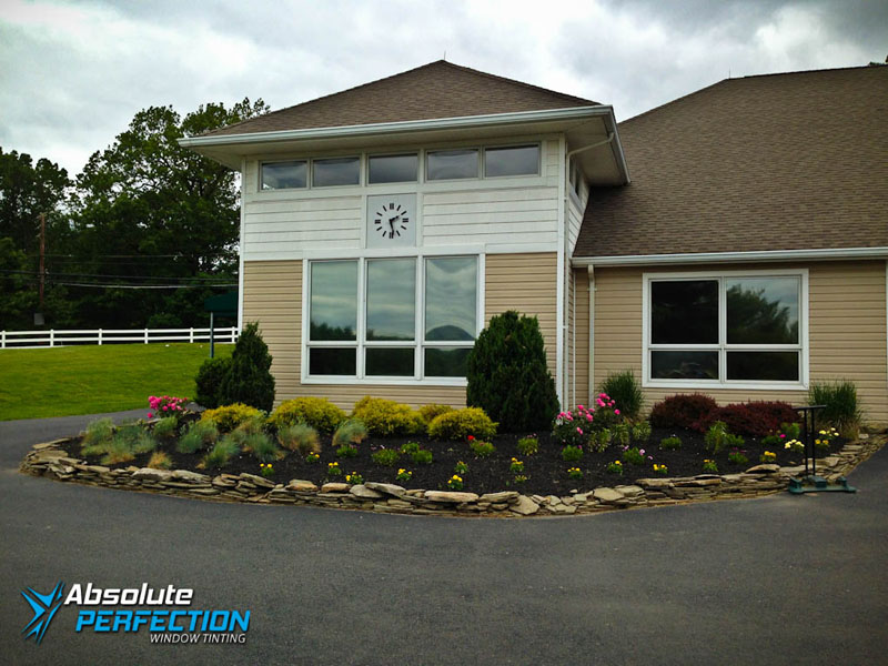 Absolute Perfection Commercial Window Tinting Glare Reduction Maryland