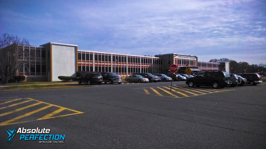 Absolute Perfection Commercial Window Tinting Glare Reduction Tint Maryland