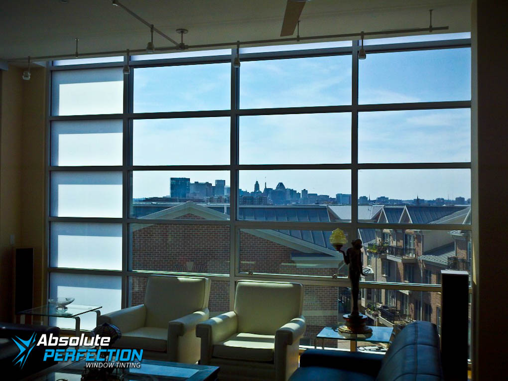 Absolute Perfection Residential UV Protection Window Tint Annapolis, MD