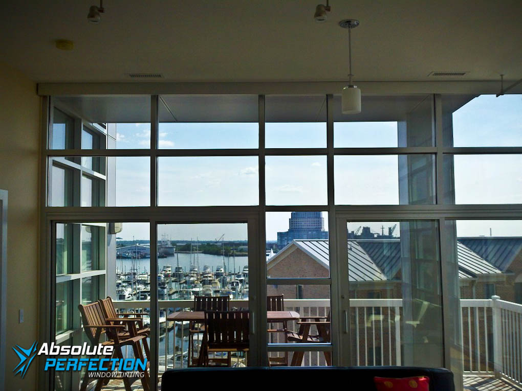 Absolute Perfection Residential UV Protection Window Tint Annapolis, Maryland