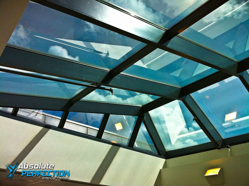Absolute Perfection Tinting Commercial Heat Reduction Window Film Washington DC