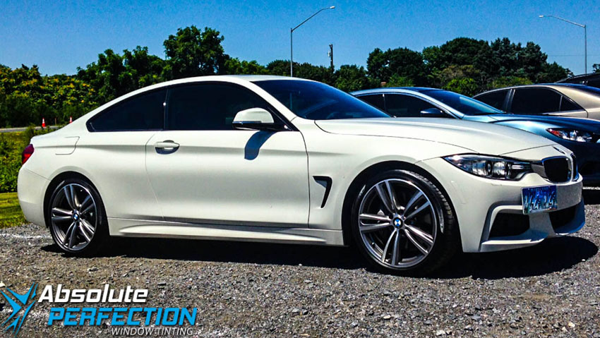 Absolute Perfection Window Tinting BMW With FormulaOne Pinnacle