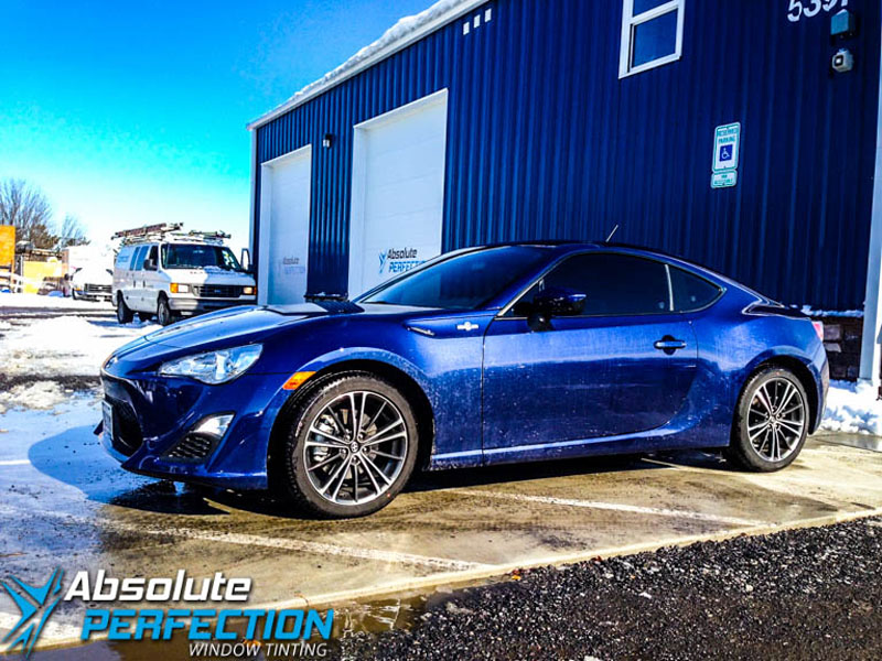 scion frs pinnacle window tint
