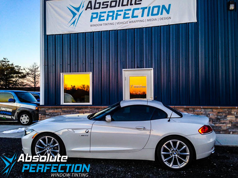 bmw z4 window tint