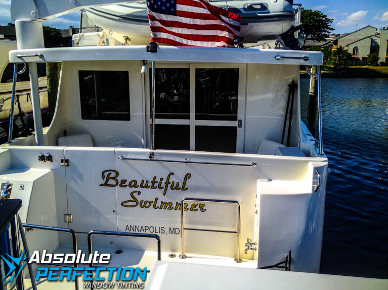 Annapolis Maryland Boat Window Tinting