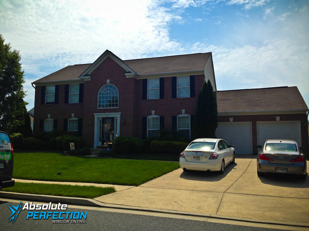 Baltimore, Maryland Absolute Perfection Home Window Tinting With EnerLogic Low-E Film