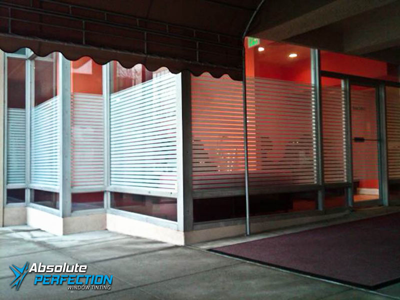 Decorative Frost for Business by Absolute Perfection Tinting
