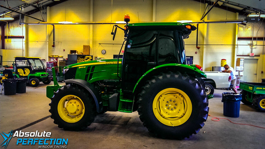window tint john deere