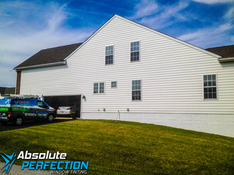 Glare Reduction Window Film for Home Absolute Perfection Tinting Sykesville, Maryland