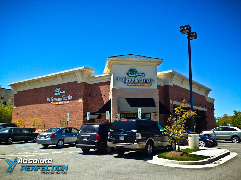 Heat Reduction Window Film The Greene Turtle Absolute Perfection Tinting Maryland