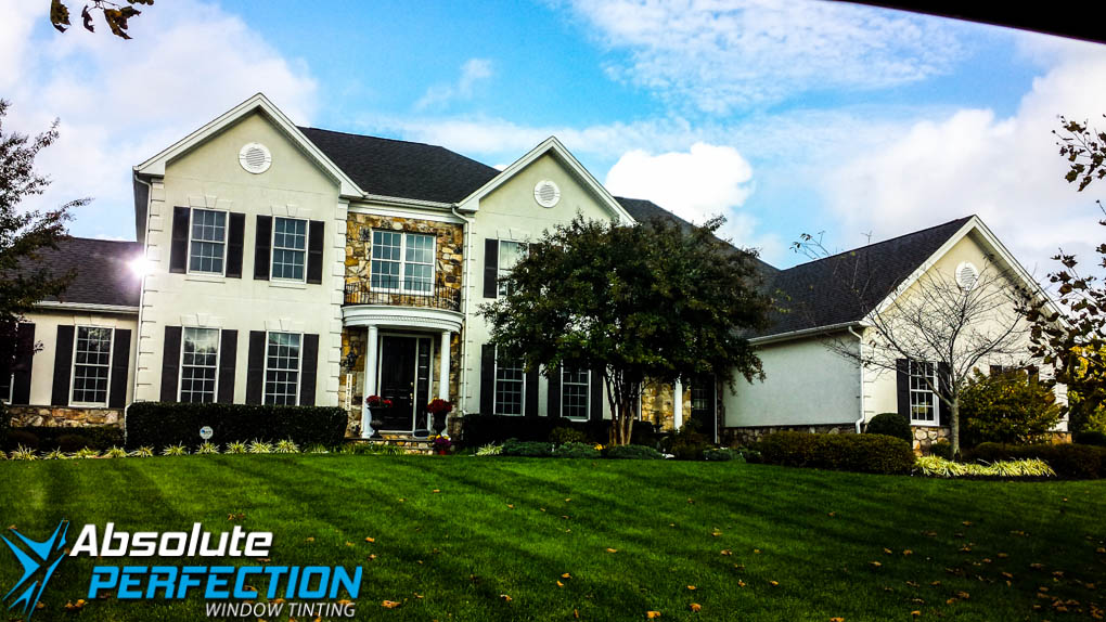 Home Glare Reduction Window Film Absolute Perfection Tinting Baltimore, Maryland