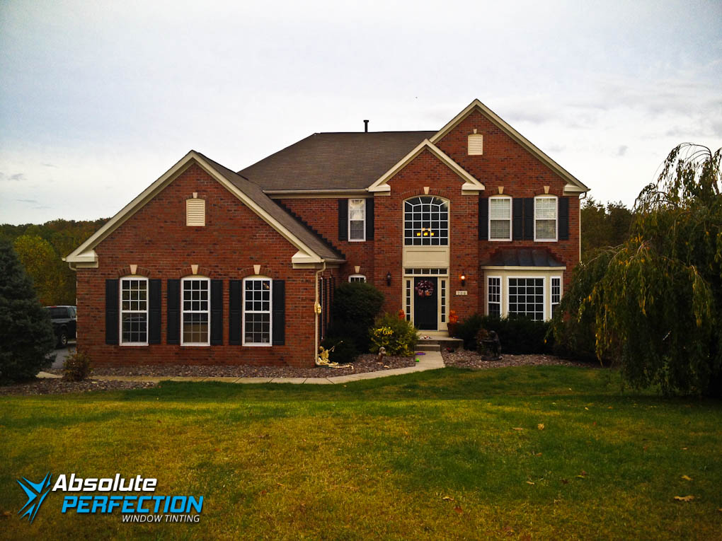 Home UV Protection Window Tint by Absolute Perfection Maryland