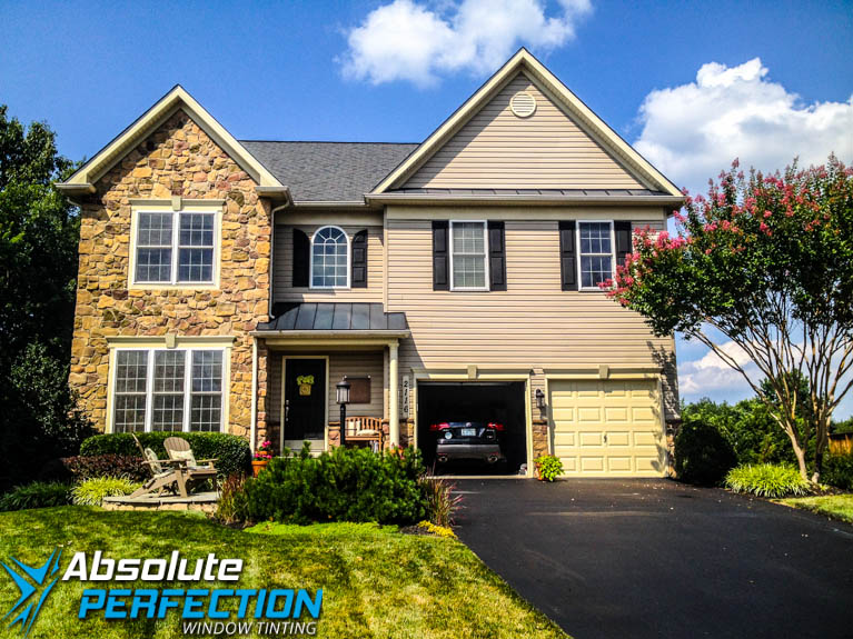Home UV Protection Window Tint by Absolute Perfection Westminster, Maryland
