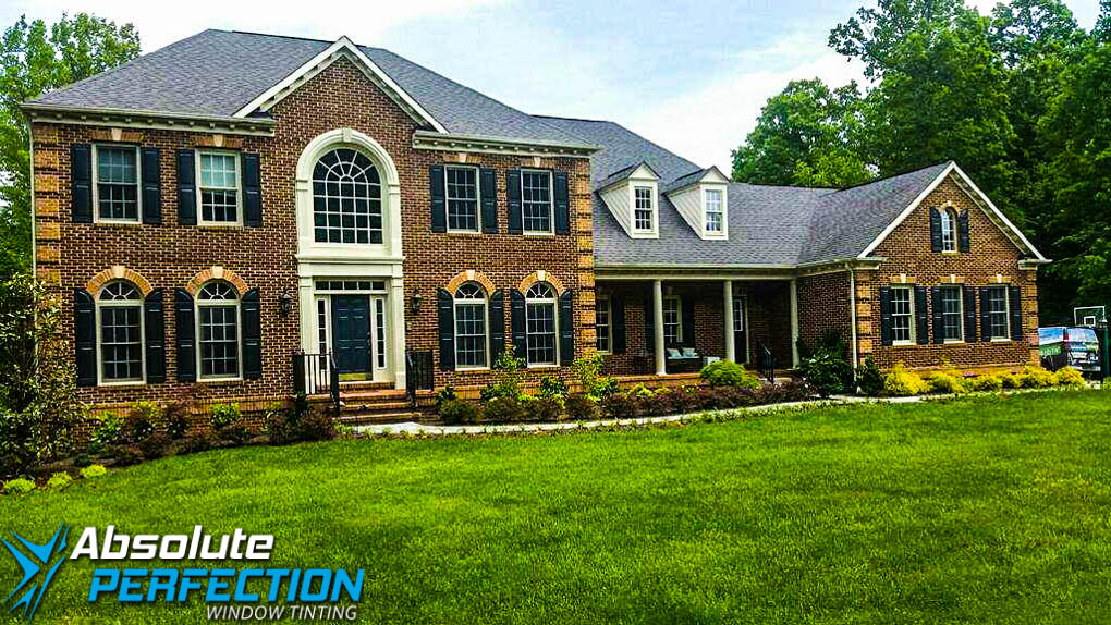 Home Window Tint Absolute Perfection Window Tinting Enerlogic Low-E Westminster, Maryland