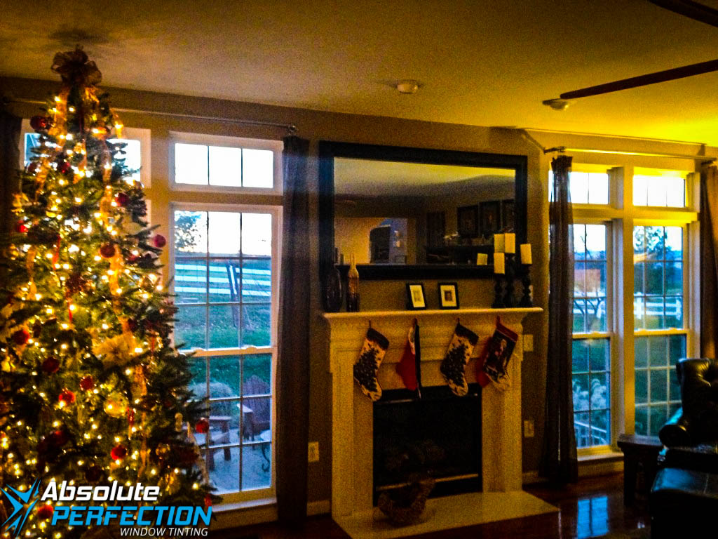 Inside Look of Home Privacy Window Tint by Absolute Perfection Maryland