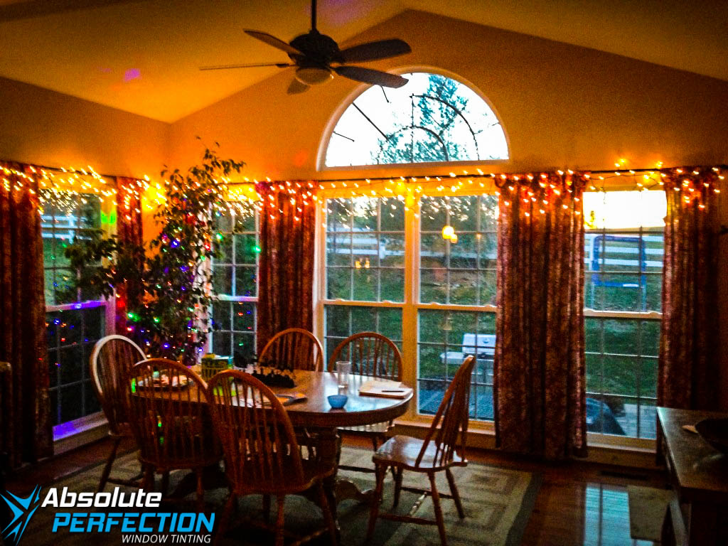 Inside Look of Home Privacy Window Tint by Absolute Perfection