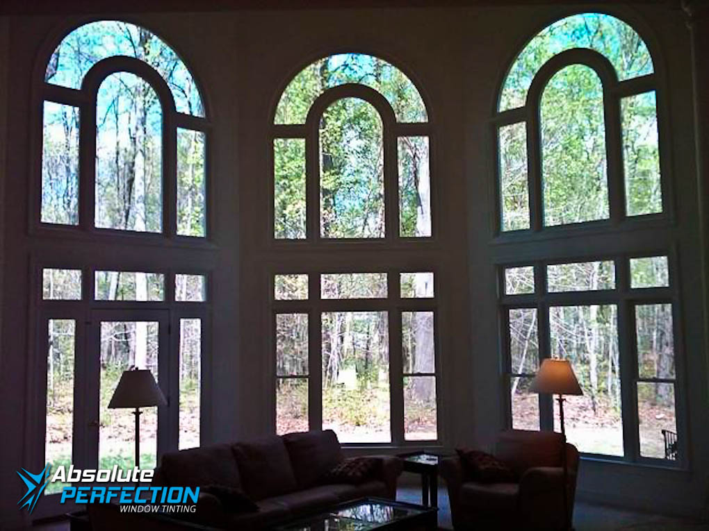 Inside Look of Home UV Protection Window Tint by Absolute Perfection MD