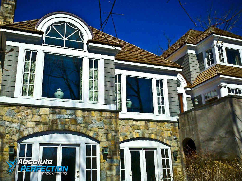 Outside Look of Privacy Window Tint for Home by Absolute Perfection
