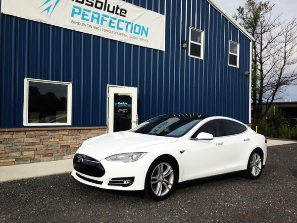 Tesla Paint Protection Film Baltimore Maryland