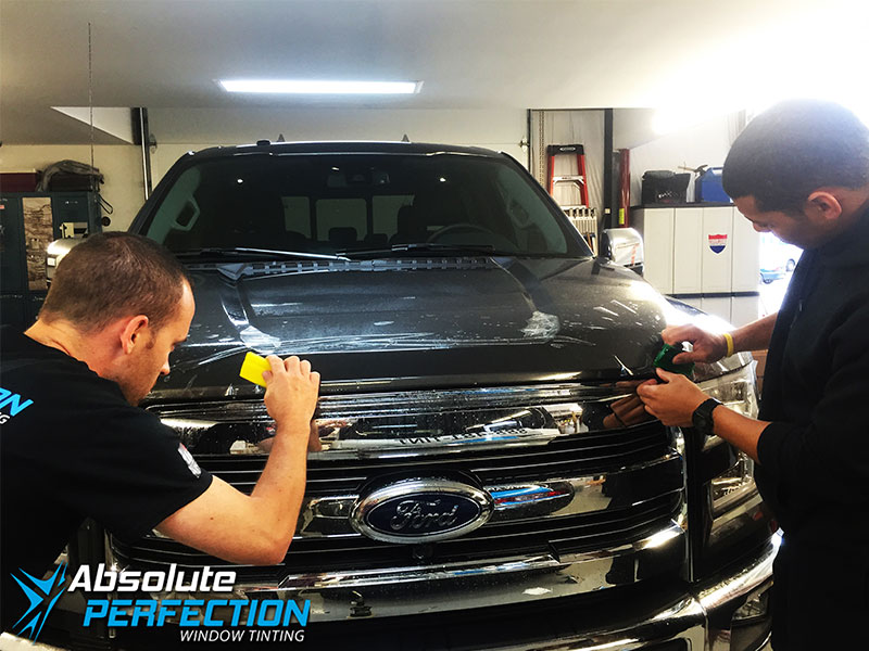 Paint-Protection-Film-Ford-F-350-5