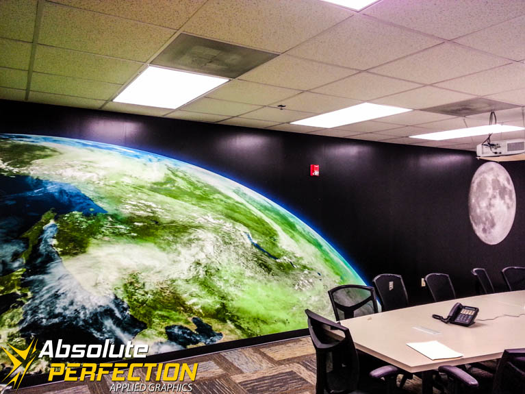 Custom Graphic Wall Mural Sykesville