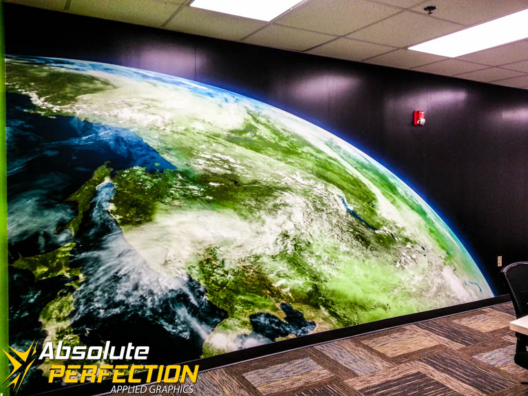 Conference Room Custom Wall Mural