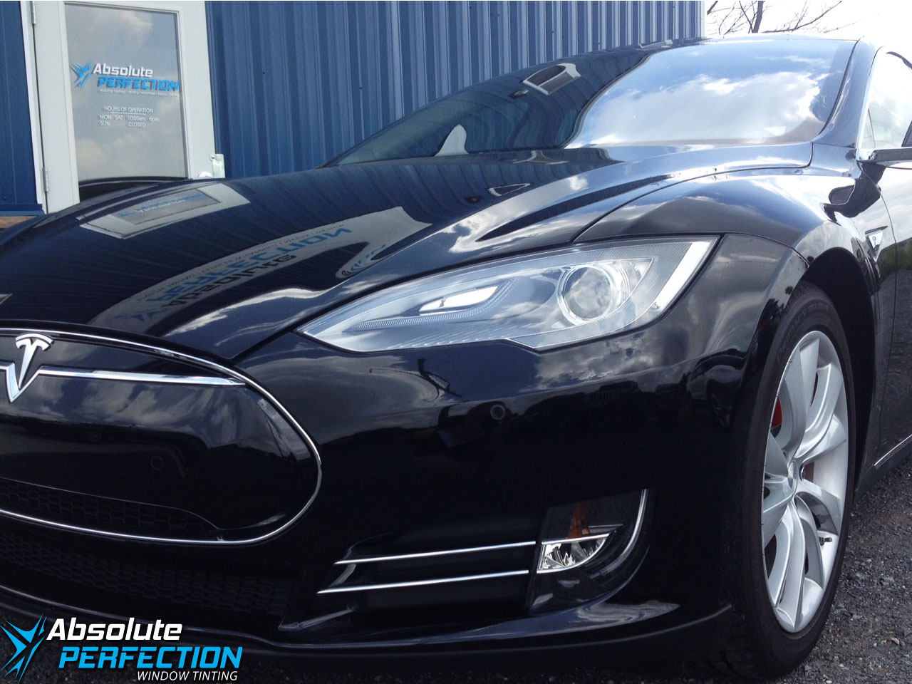 Tesla Paint Protection Film Sykesville Maryland