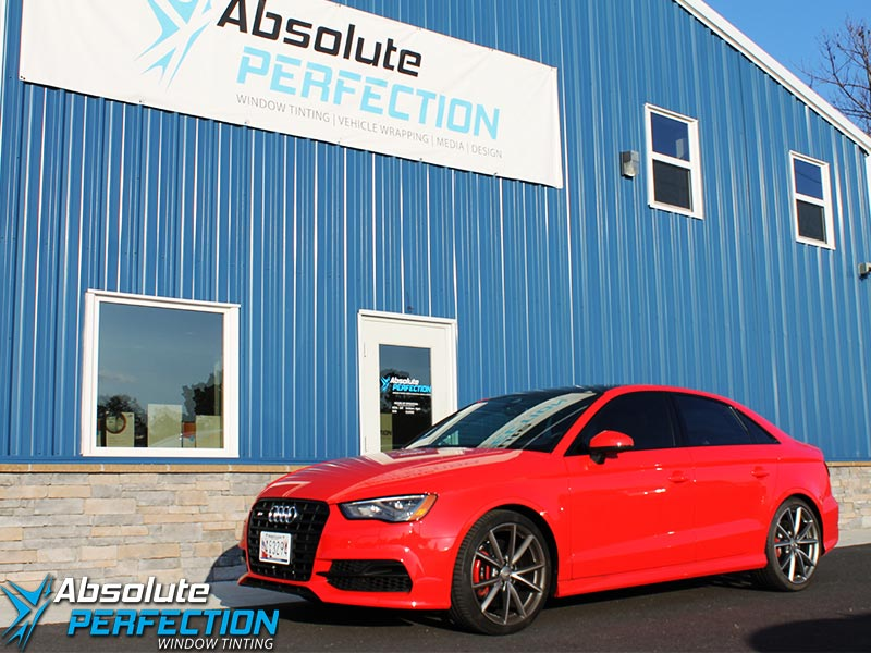 2016 Audi A3 FormulaOne Pinnacle Window Tint Absolute Perfection Downsized
