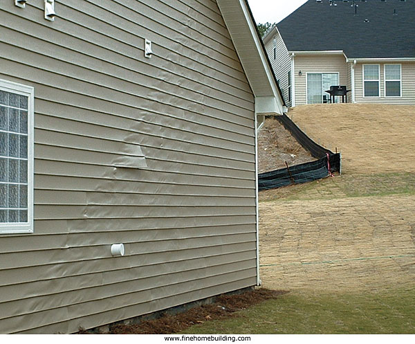 Vinyl Siding Melting