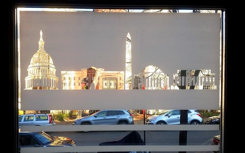 custom printed decorative window films - ap tinting