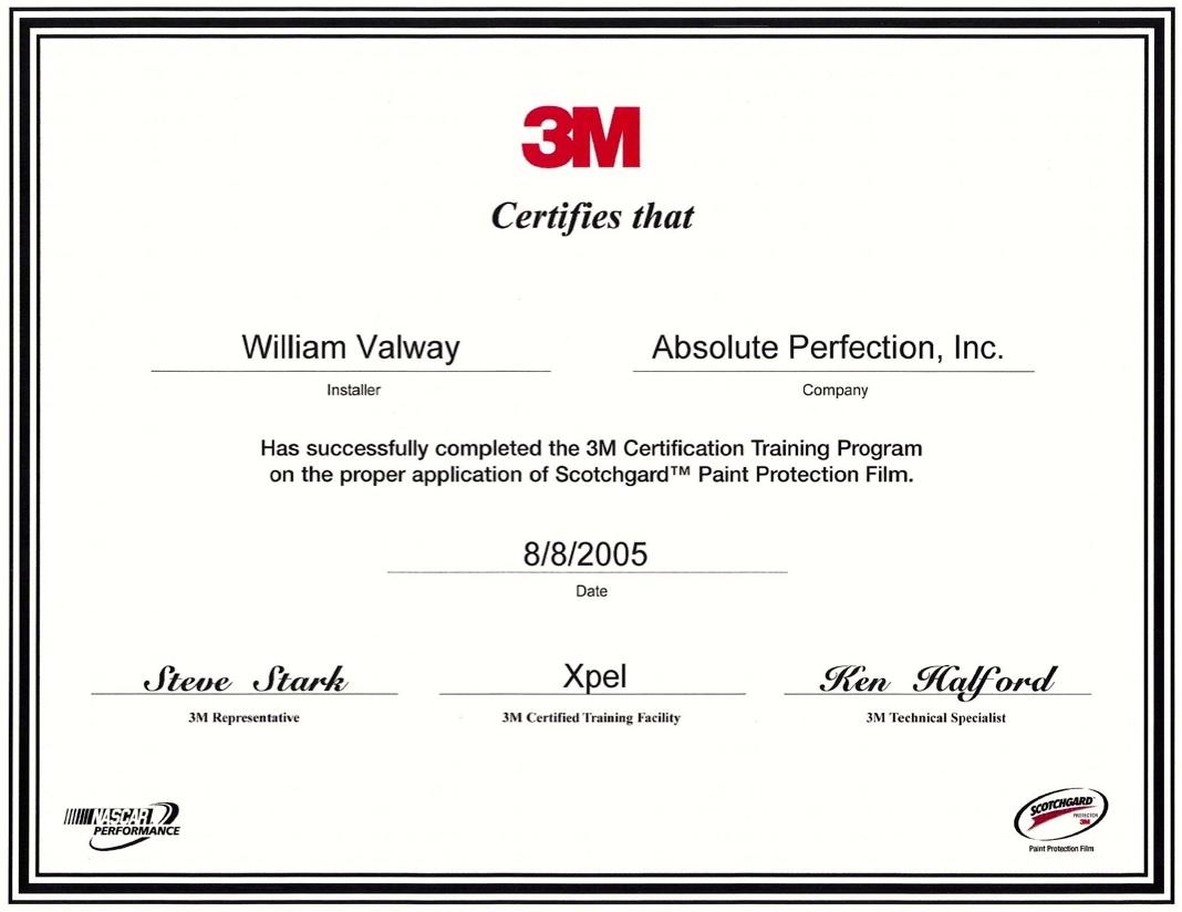 Awards certificates ap tinting bill valway xflitez Choice Image