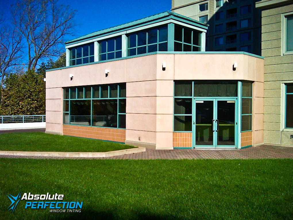 commercial windows tinting film | Case Study | Premier Residences of Chevy Chase, MD | AP ...