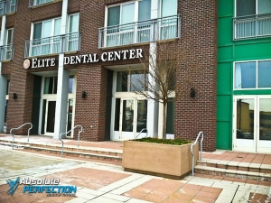 Elite Dental Commercial Window Tinting by AP Tinting - Wheaton, Maryland