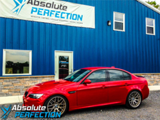 bmw window tint absolute perfection