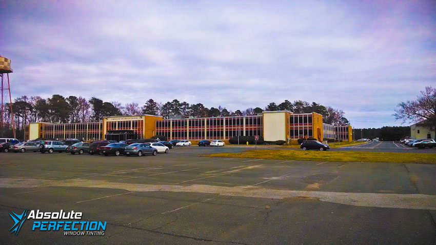 Absolute Perfection Commercial Window Tinting Glare Reduction Tint Baltimore, Maryland