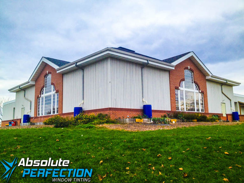 Absolute Perfection Commercial Window Tinting Glare Reduction Tint MD