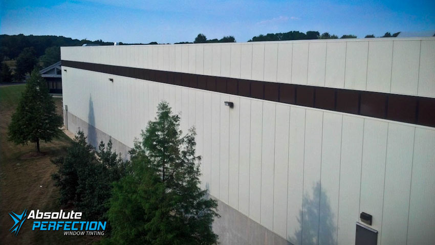 Absolute Perfection Commercial Window Tinting Glare Reduction Washington DC & Maryland