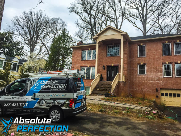 Absolute Perfection Home Window Tinting EnerLogic Low-E Film in Maryland