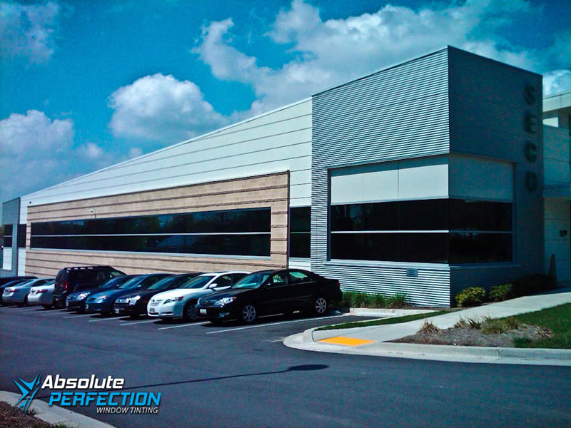 Absolute Perfection Tinting Commercial Heat Reduction Window Film Washington DC & Maryland