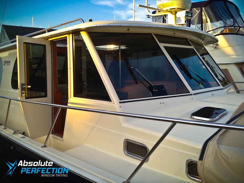 Boat Window Tint Chesapeake Maryland