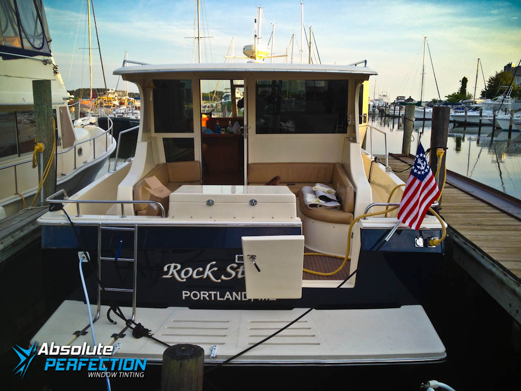 Boat Window Tinting