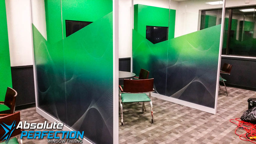 Business Custom Frost Design by Absolute Perfection Tinting