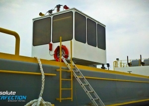 cargo ship window tinting