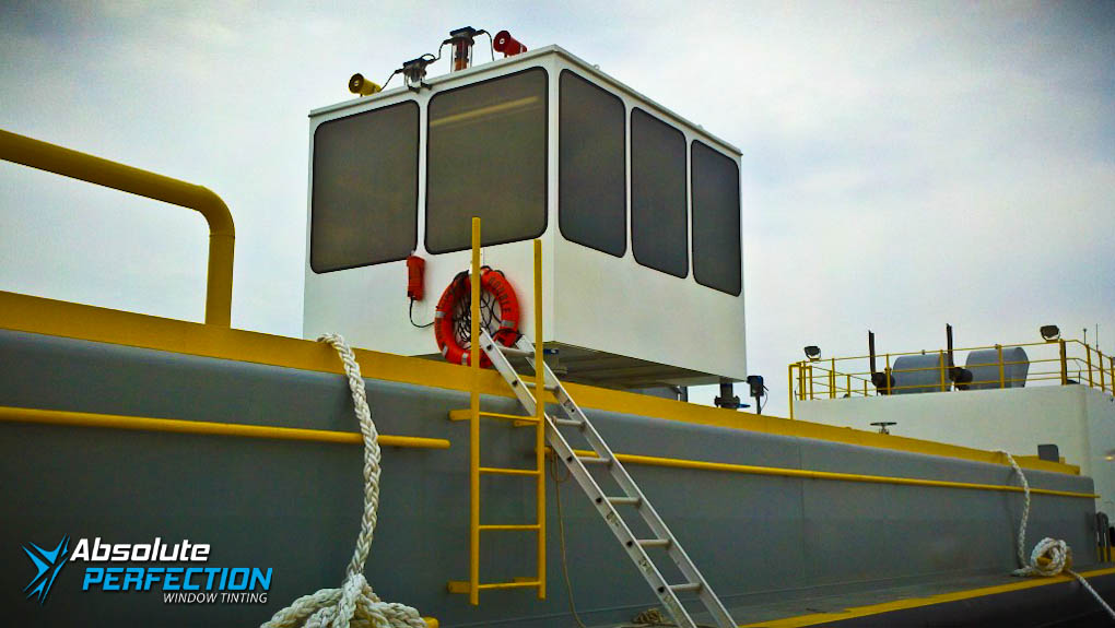 cargo ship window tinting