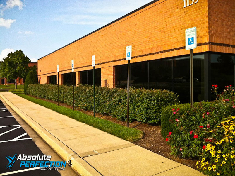Commercial Heat Reduction Window Film Absolute Perfection Tinting Washington DC