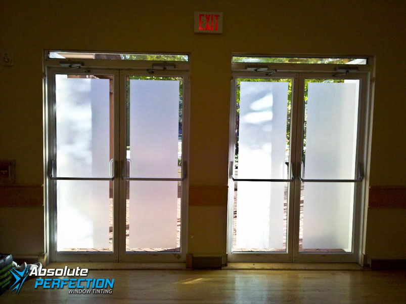 Decorative Frost for Business by Absolute Perfection Tinting Washington, DC