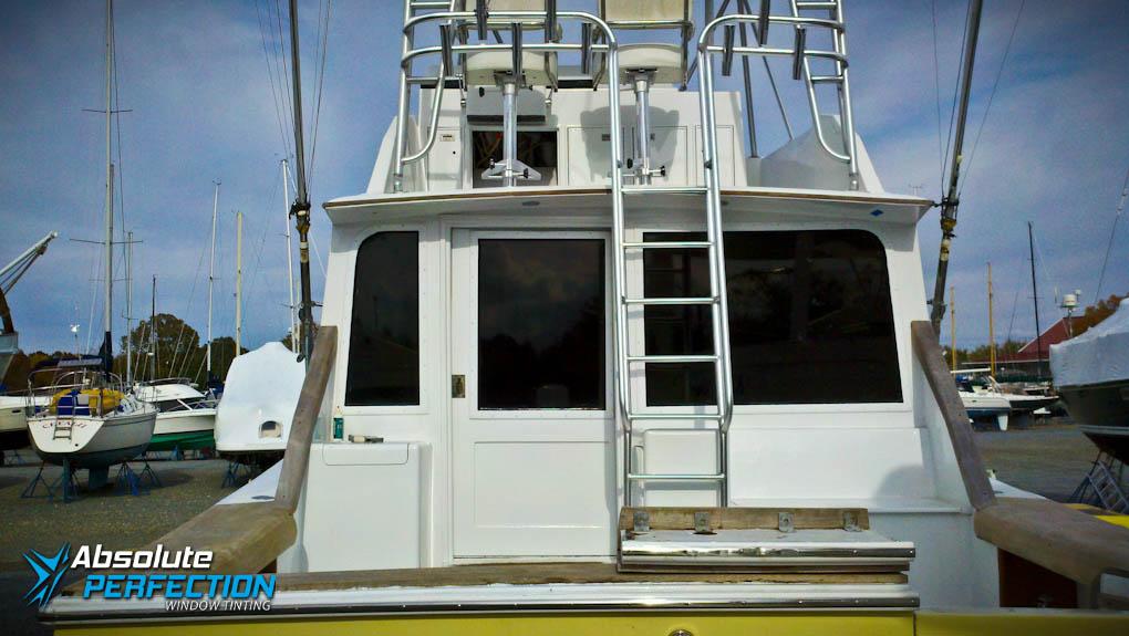 fishing boat window tint