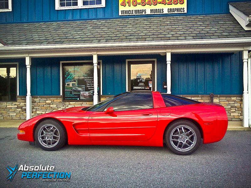 window tint formulaone classic corvette