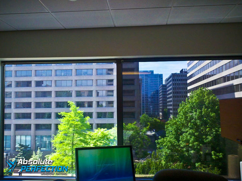Glare Reduction Window Tint Absolute Perfection Window Tinting Baltimore, Maryland